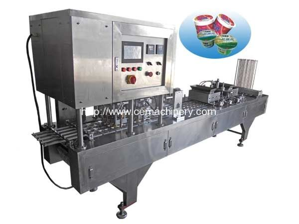 Siemen Plc Coffee Capsule Filling Sealing Machine Coffee Capsules Making Machine Coffee Powder