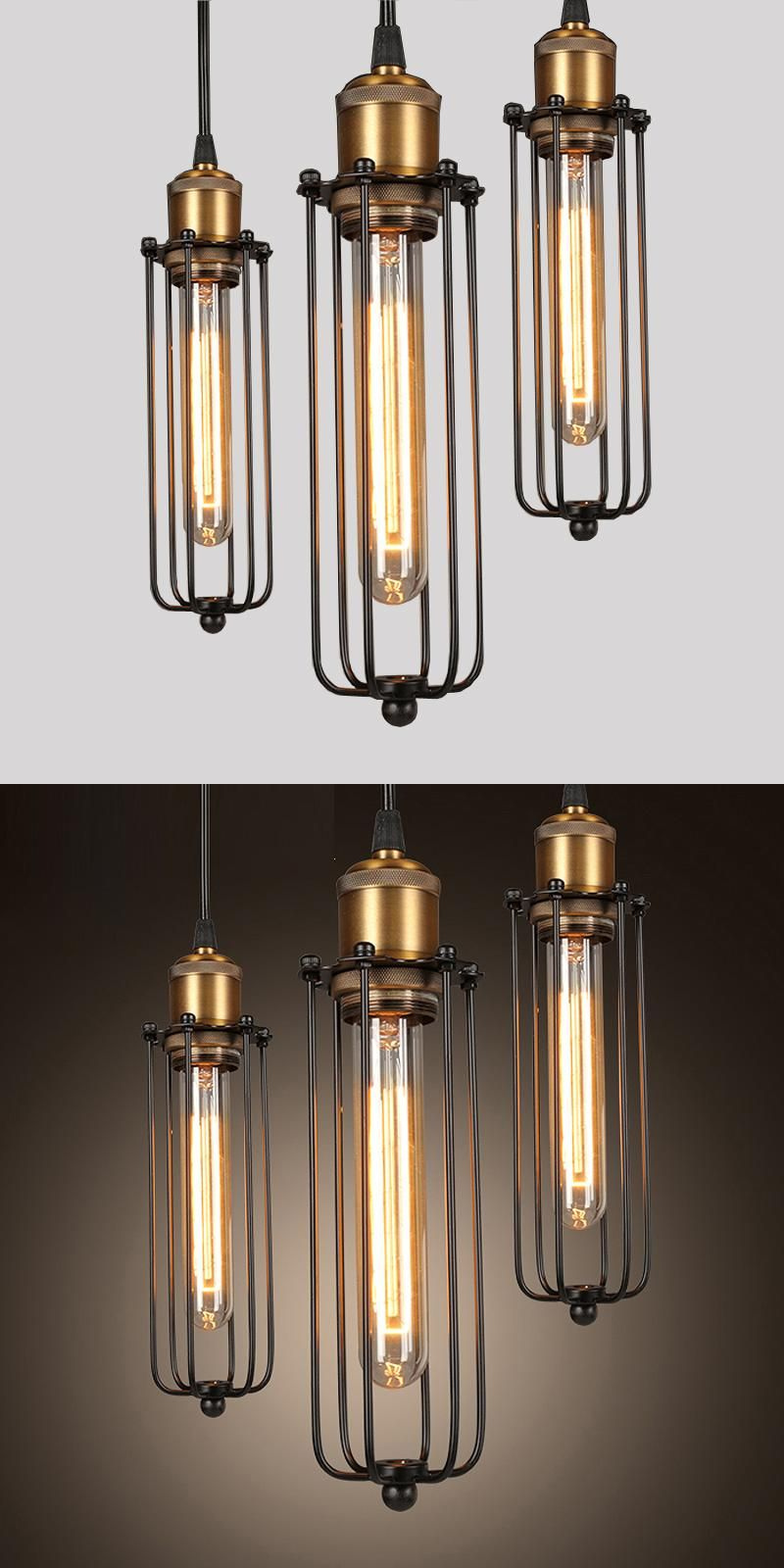 Visit to buy retro rh industrial pendant lamps for warehousebar a