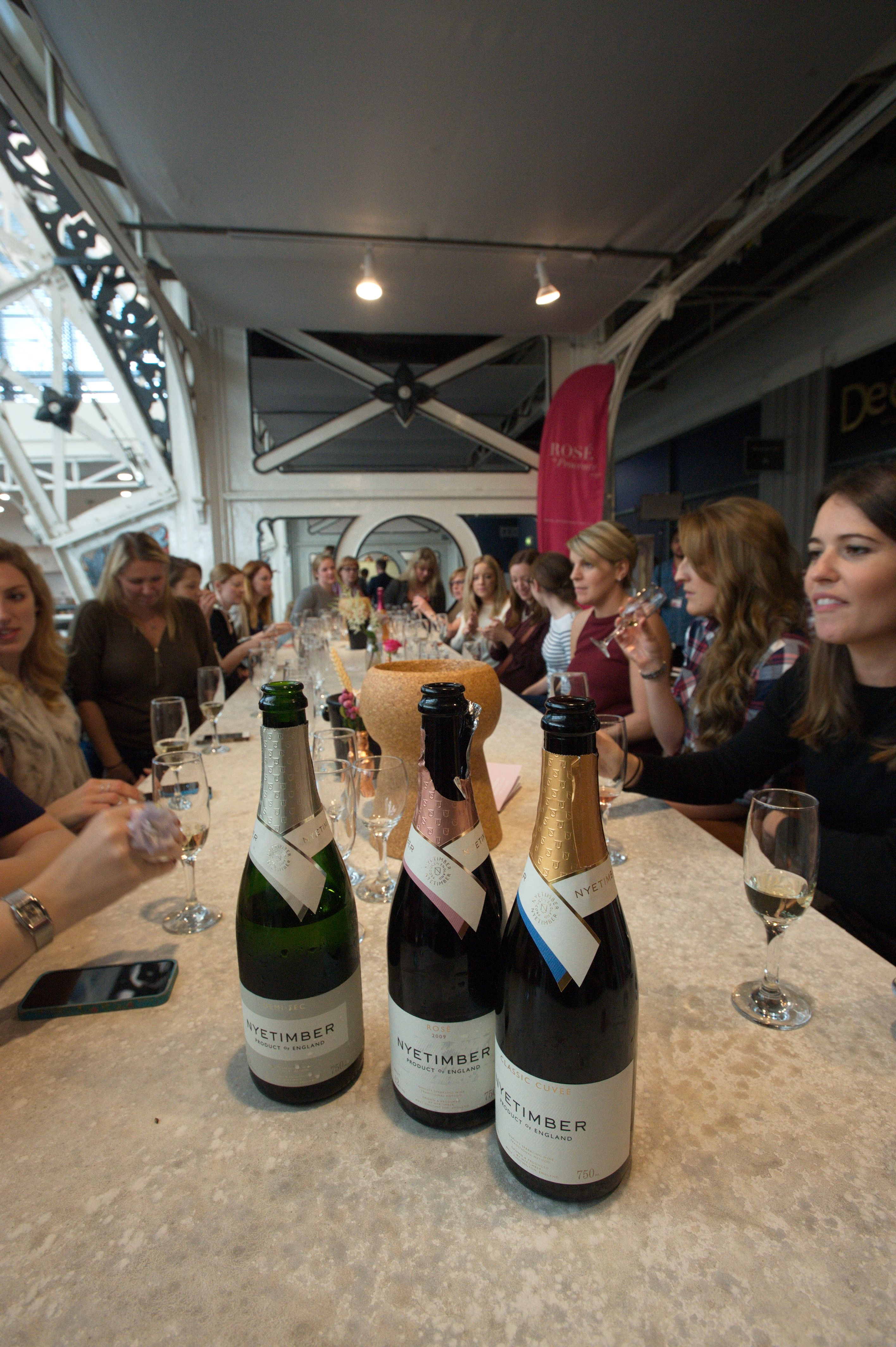 The Wine Workshop at #bridestheshow with Nyetimber