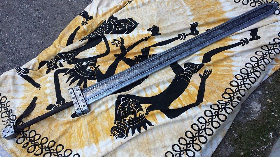 Gatsu first great sword #gatsu #berserk #larp #grv #berserk