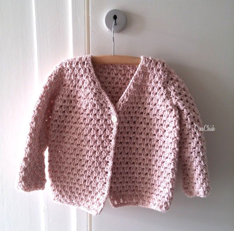 Crochet Fall Jacket Crochet Kniting 4 Baby Toddlers