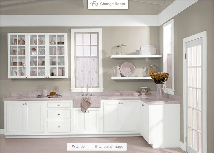 behr castle path and pure white for cabinets behr 730c in 2019 kitchen cabinets kitchen. Black Bedroom Furniture Sets. Home Design Ideas