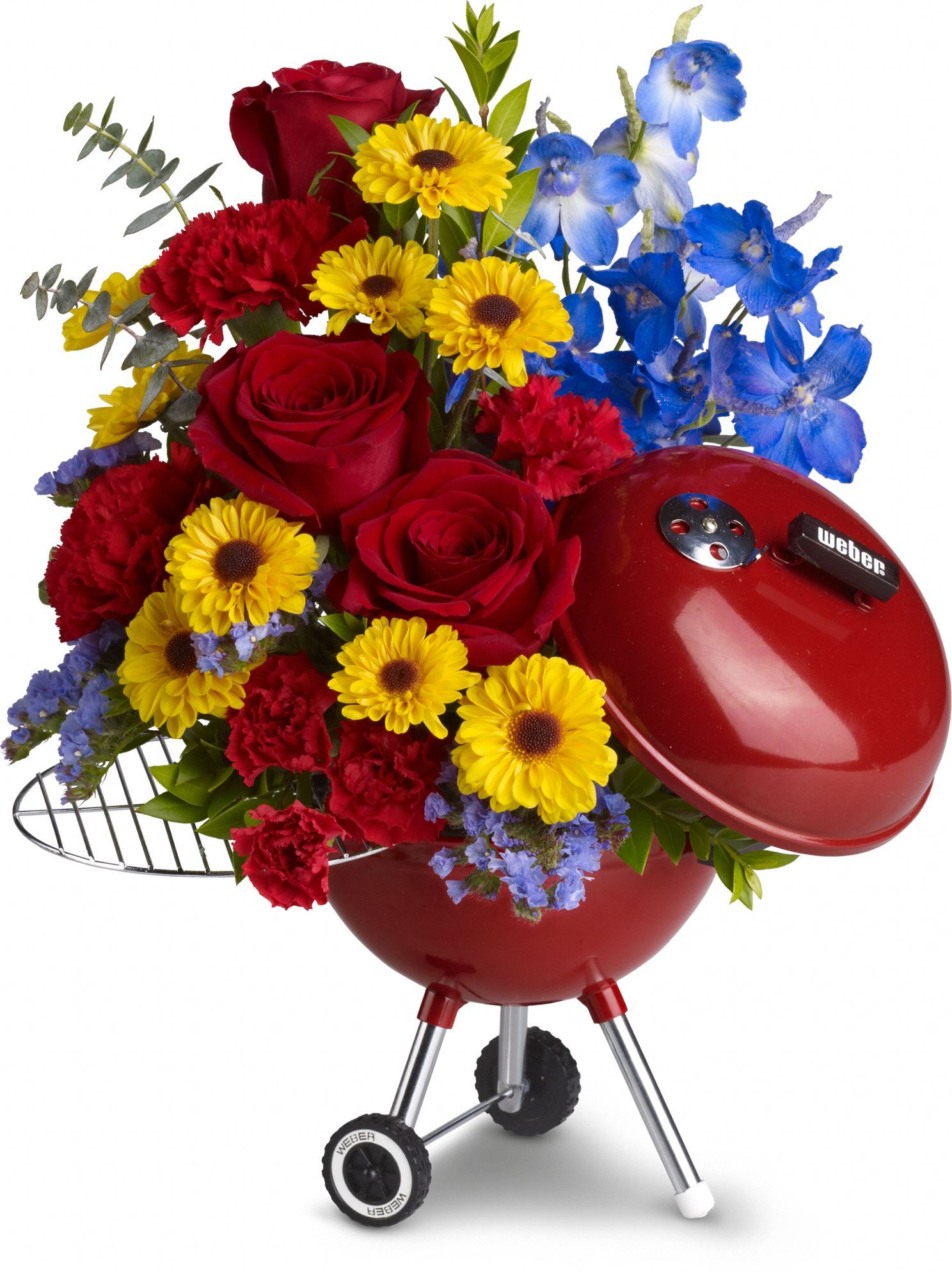 WEBER King of the Grill by Teleflora Men love Flowers too