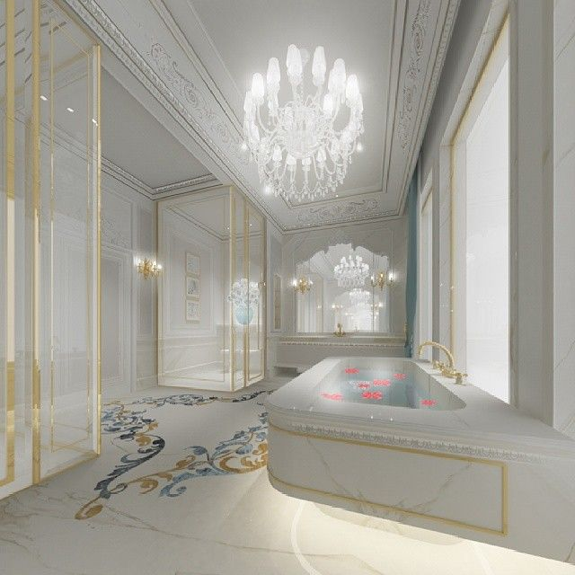 Master Bathroom Design   Dubai   UAE