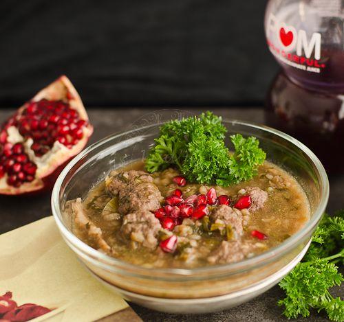 From My Lemony Kitchen ....: Persian Pomegranate Soup