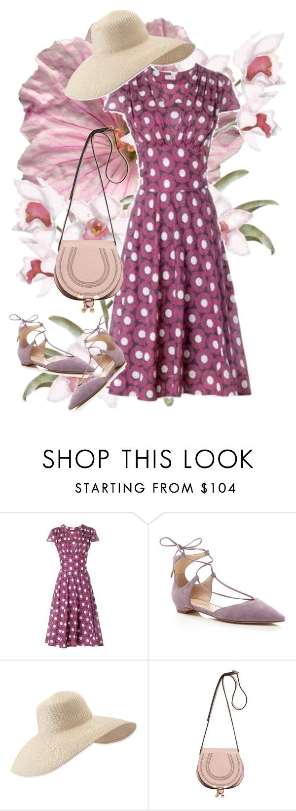 """lili"" by atijanam ❤ liked on Polyvore featuring Phase Eight, Ivanka Trump, Eric Javits and Chloé"