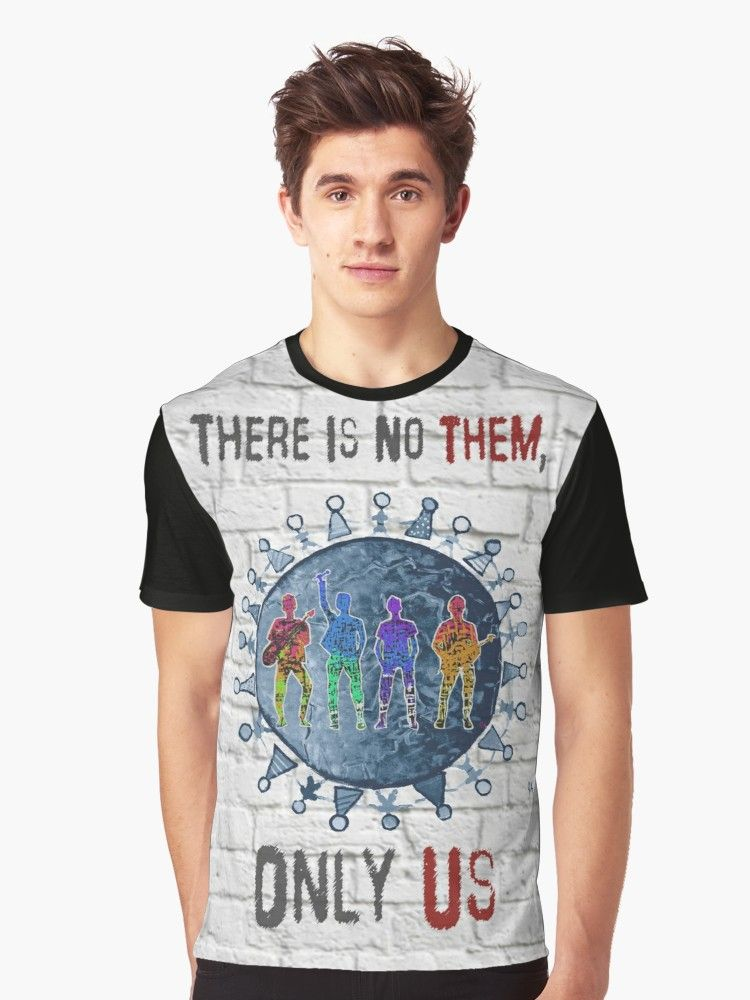 There Is No Them, Only Us Band Bricks | Graphic T-Shirt in