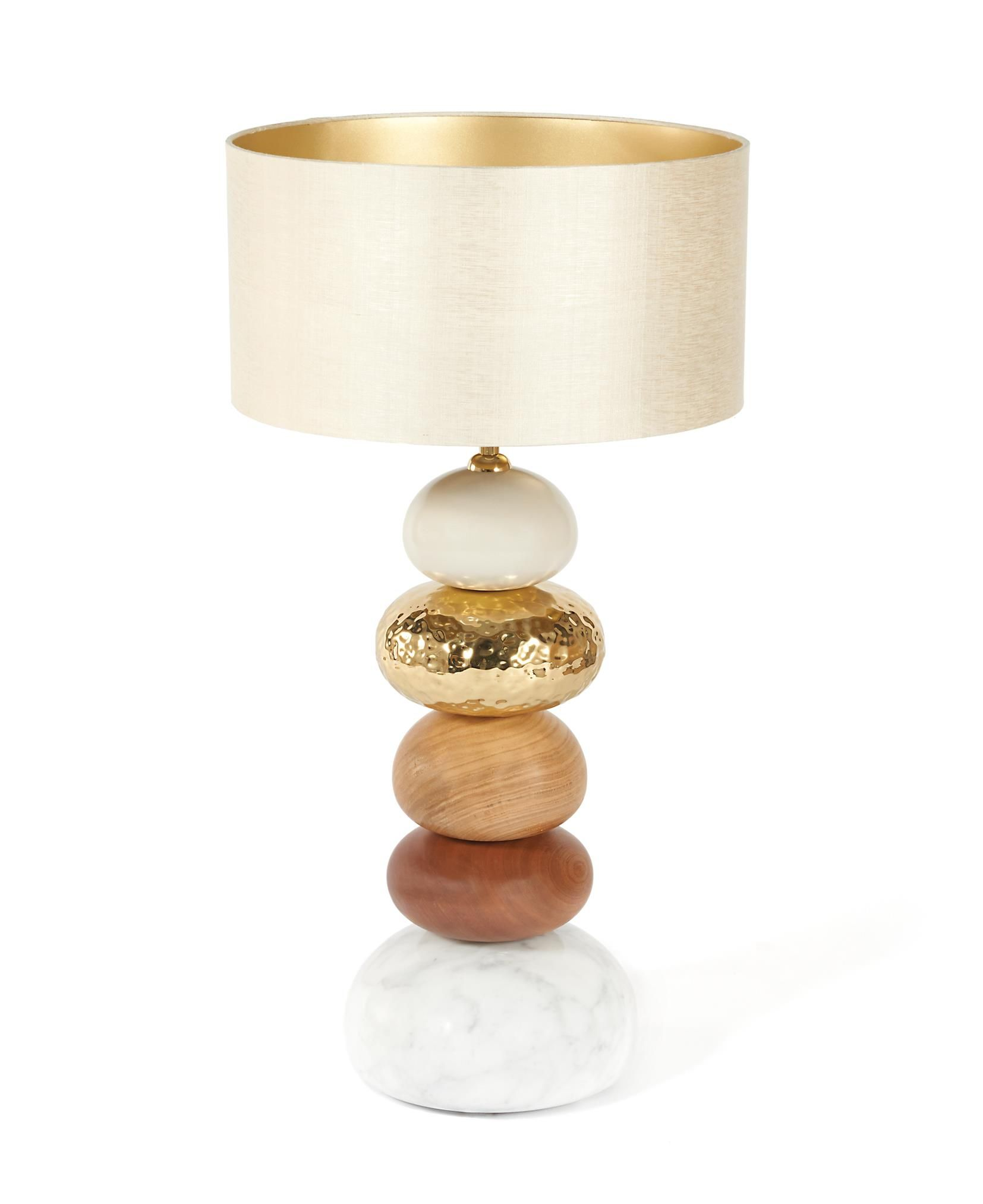Pebble table lamp luminaire pinterest lights and contemporary pebble table lamp geotapseo Images