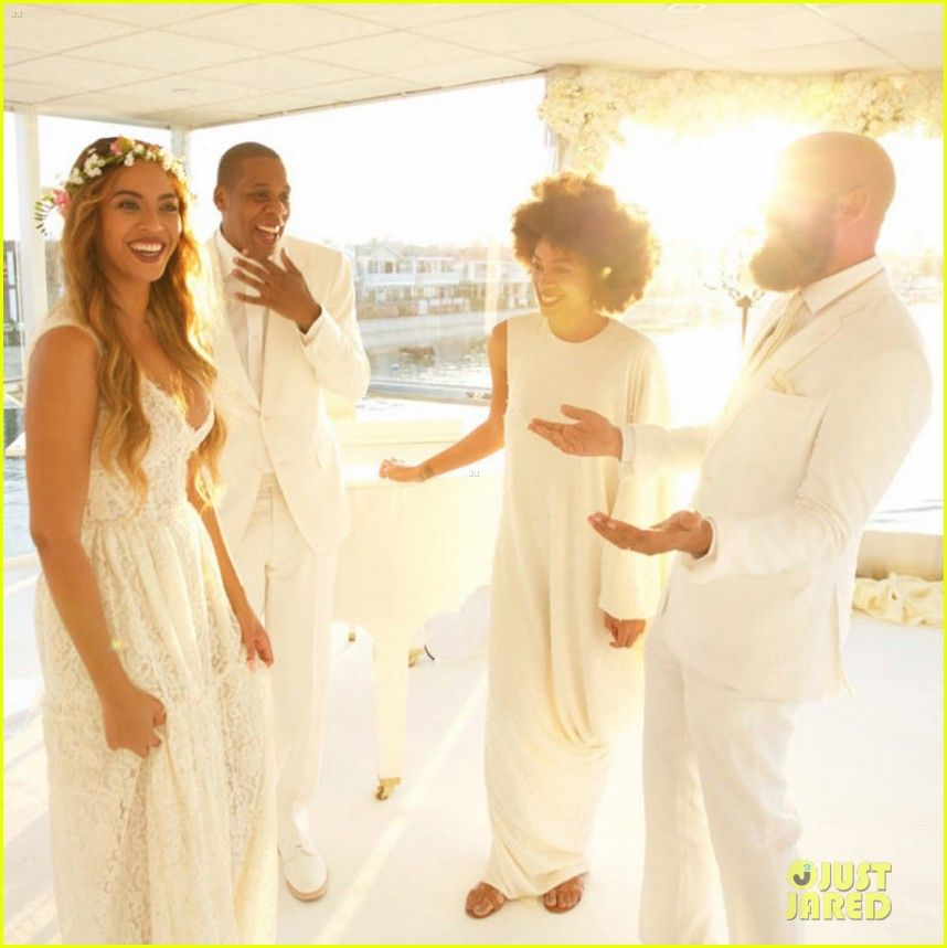 Blu Ivy Tina Knowles Wedding