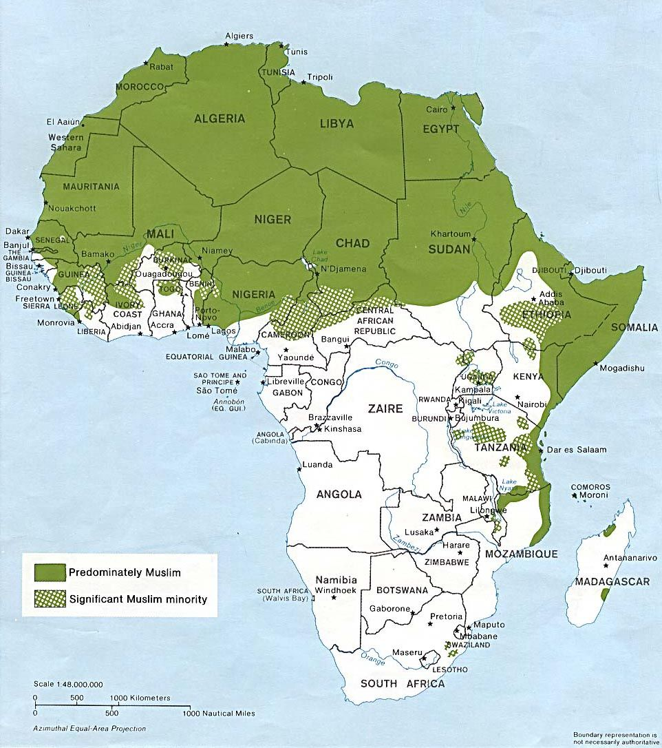 Islam in africa african african american studies interests map of islam during 800 ce in which the islamic and byzantium civilizations increased contact throughout africa gumiabroncs Gallery