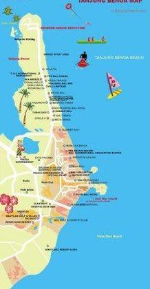 Tanjung Benoa Map Tanjung Benoa as One of The Best Place ...