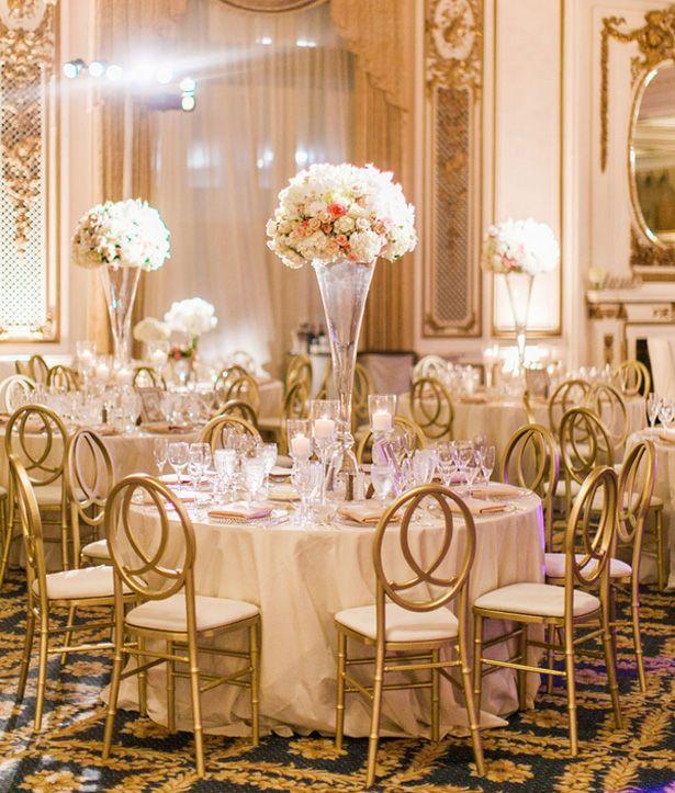 Golden Glamour Wedding In San Francisco