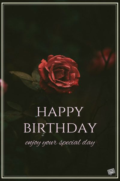 Unique happy birthday wishes to send to the ones you love happy enjoy your special day thecheapjerseys Choice Image