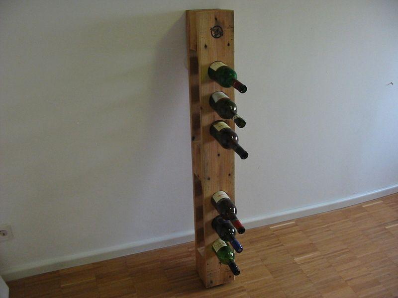 weinregal aus europalette von holzwerk76 auf europalett pinterest wine rack. Black Bedroom Furniture Sets. Home Design Ideas