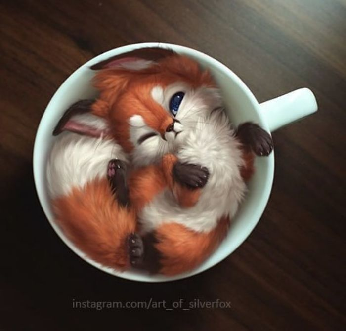 Artist Creates Extremely Cute Digital Animals And
