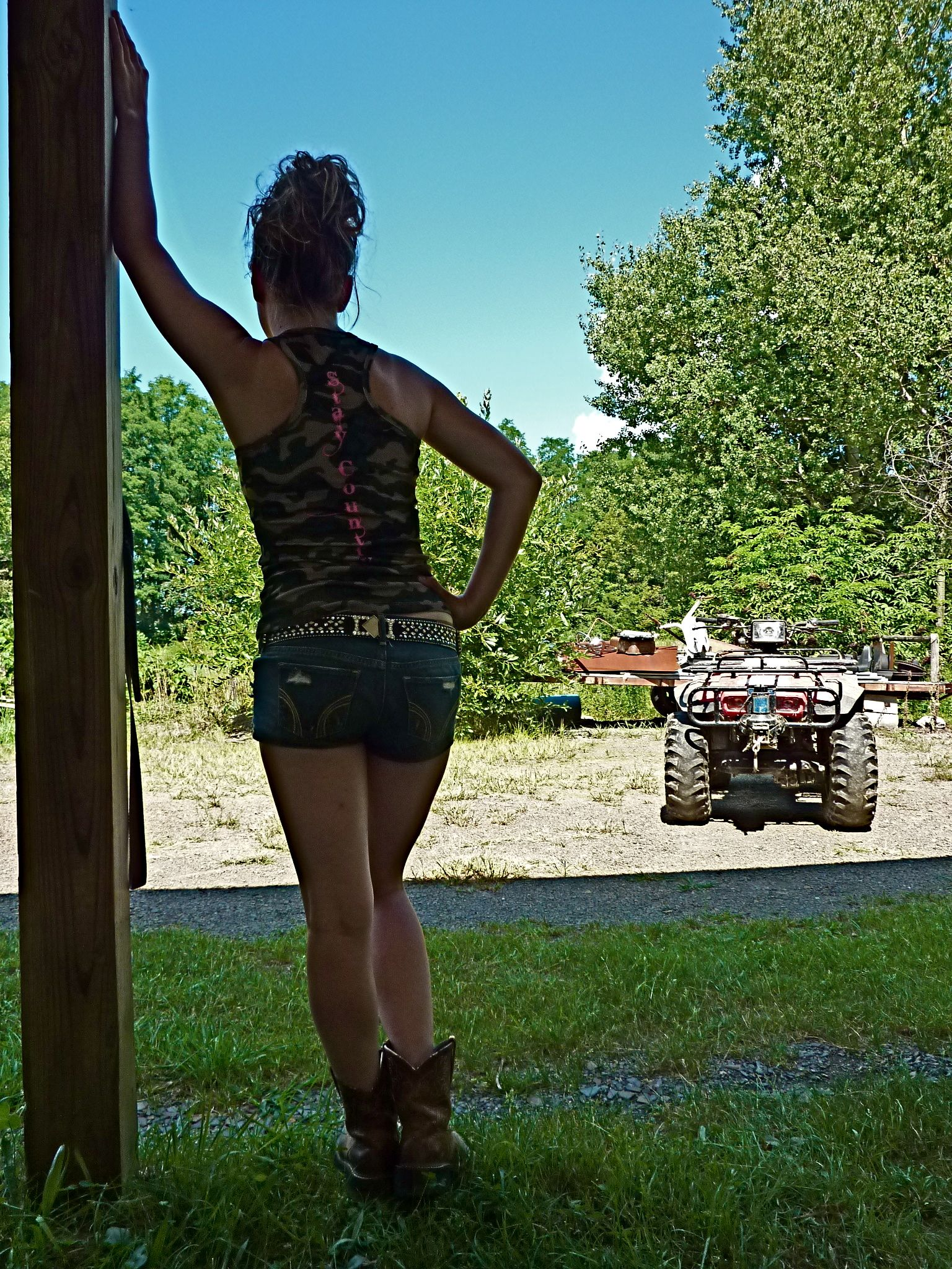 Stay Country Racerback Camo Tank, Stay Country Clothing -3507
