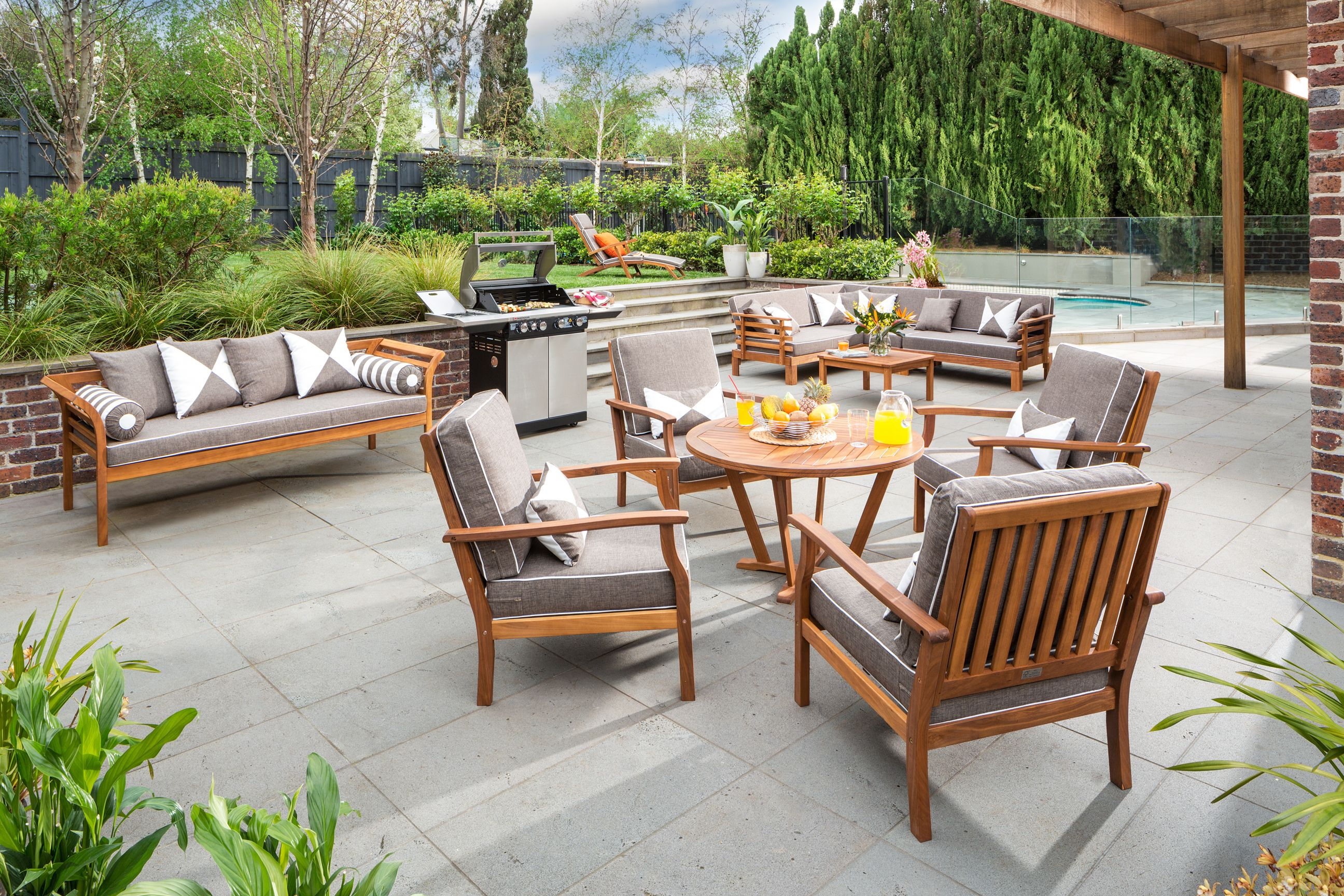 Outdoor Lounges Bunnings Everyday Resort Living Outdoor Inspiration Package At