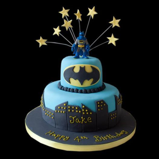 Batman Birthday Cake by rebeccagilmoreweddingcakescouk Cakes