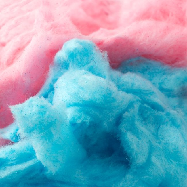 Pink Blue Cotton Candy Fresh Cherry Raspberry