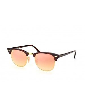 Ray-Ban Clubmaster Red Havana Sunglasses with Pink Flash Gradient Lens 70d706a4be28