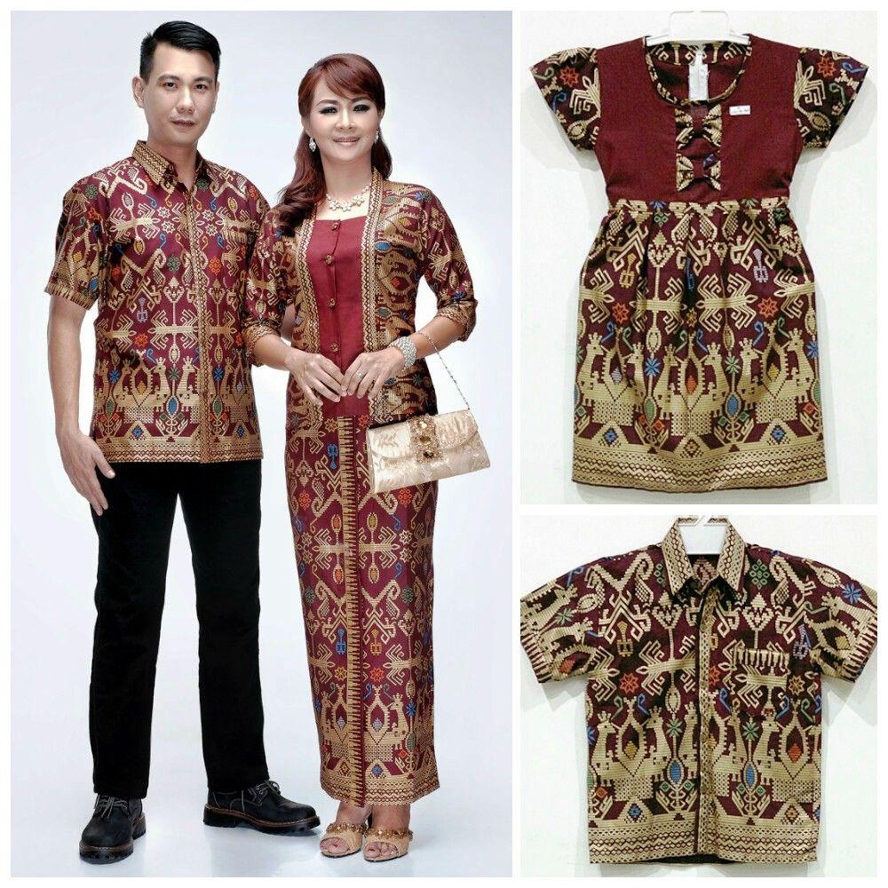 17 Baju Batik Couple Keluarga Untuk Pesta Modern 2018 Model