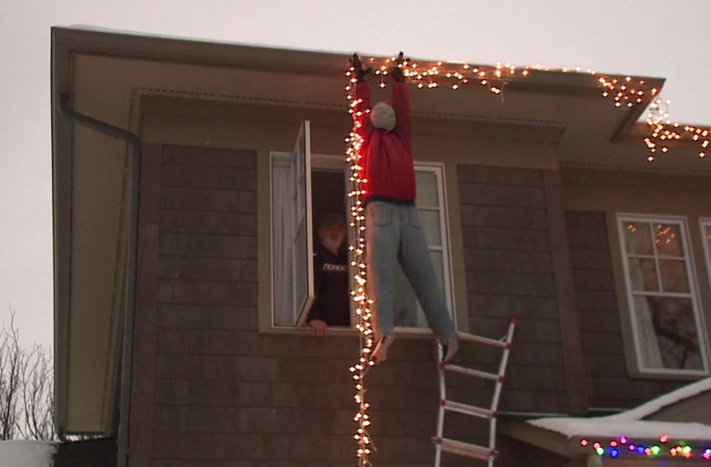 Did You Have A Gutter Oopsie While Hanging Your Holidaydecorations This Past Weekend Its Not Too Late To C Hanging Christmas Lights Christmas Lights Gutters