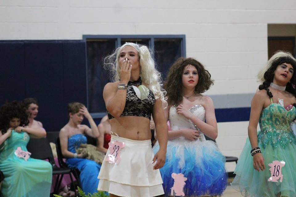 2018 HCMS Womanless Beauty Pageant   Young TG in 2019