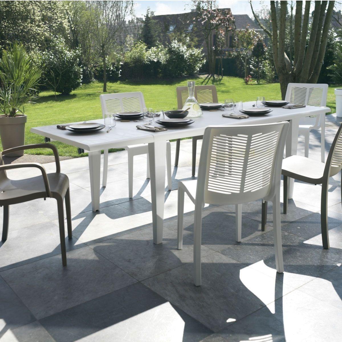 Table De Jardin Alpha 150 Taille 4 Pers 12 Pers Salon De Jardin Plastique Table De Jardin Et Agrement De Jardin