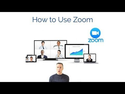 How to Use Zoom Online Meetings Setting up an account