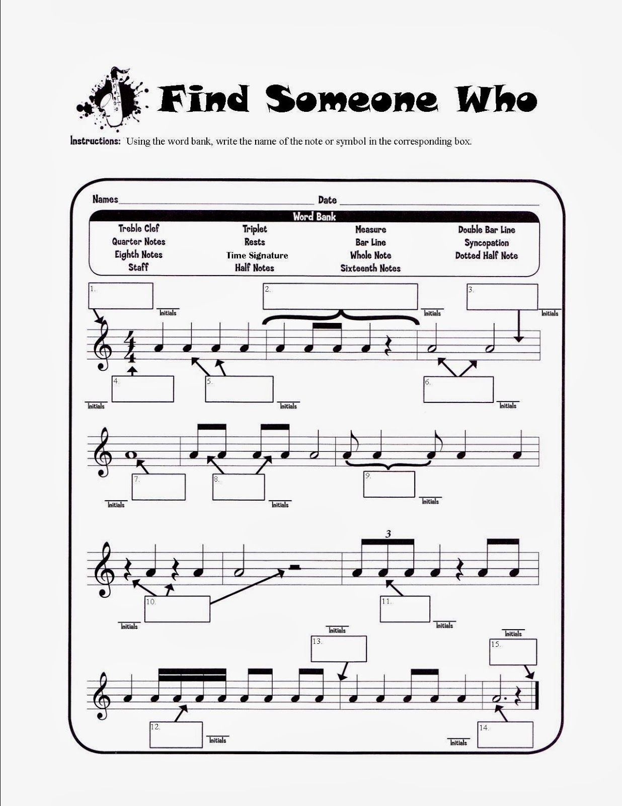 Worksheets Solfege Worksheets musical musings halloween match mine band pinterest music mine