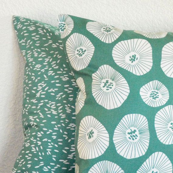 For the lounge area? Lotta Jansdotter pillow covers by Pillow Mio.