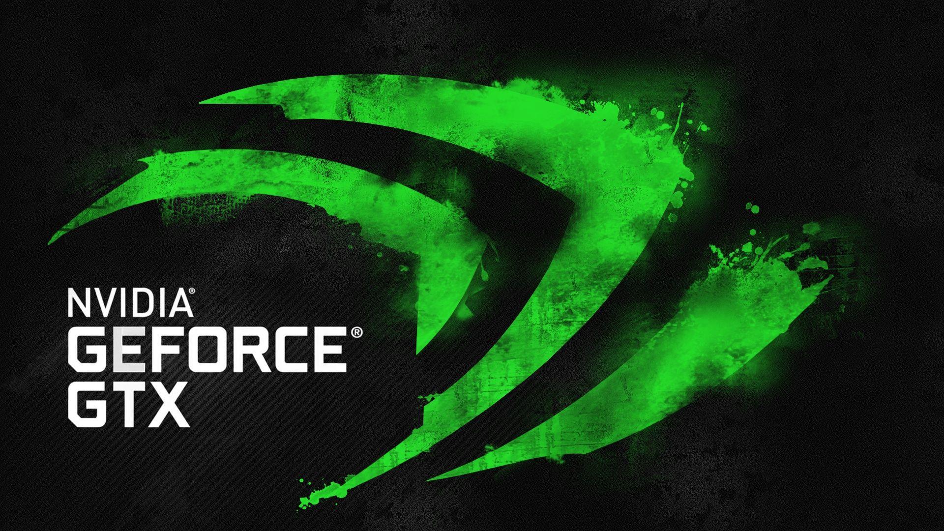 Download Geforce Gtx Nvidia Green Logo Hd Wallpaper 1920x1080 Like