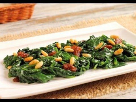 طريقة عمل السبانخ بالزيت Turkish Recipes Food Side Dish Recipes