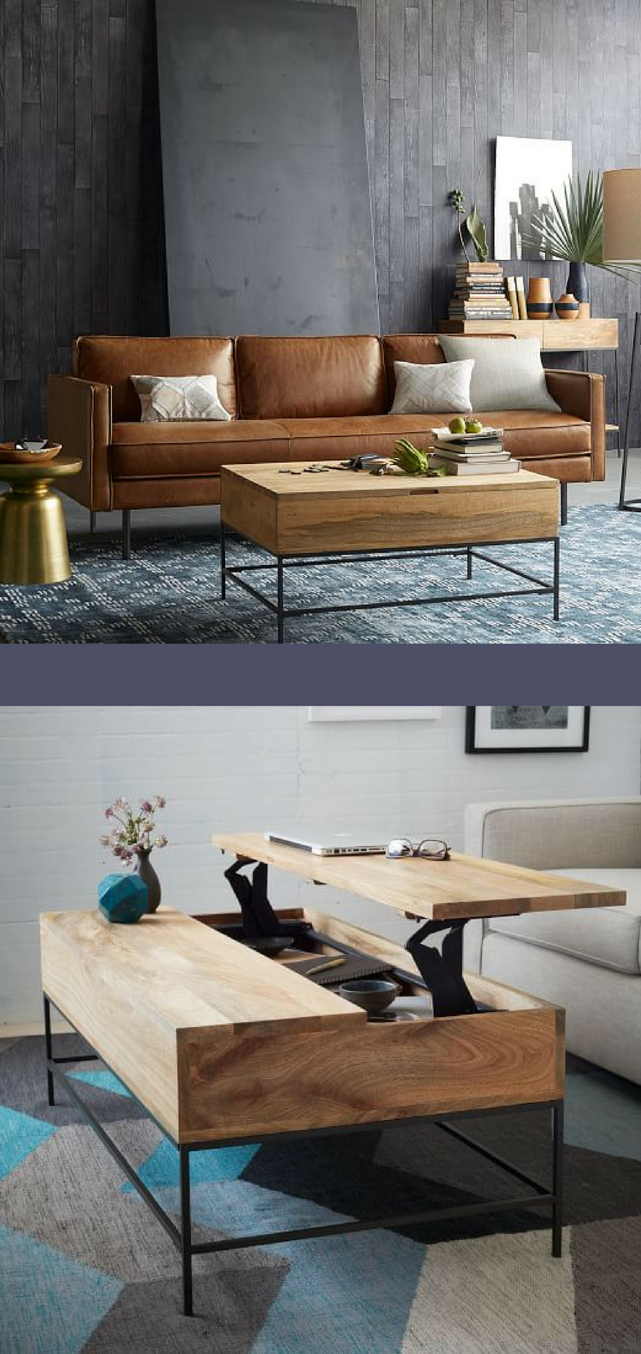 Awesome Maximize Space With A Folding Coffee Table Storage Coffee Machost Co Dining Chair Design Ideas Machostcouk