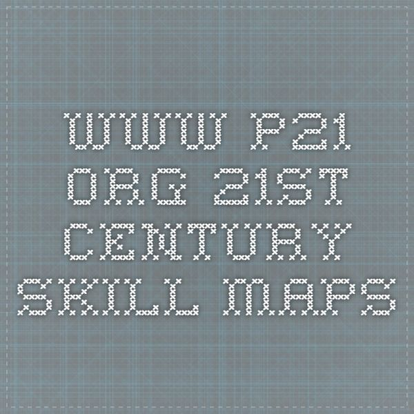 Wwwporg St Century Skill Maps St Century Skills - P21 world languages skills map