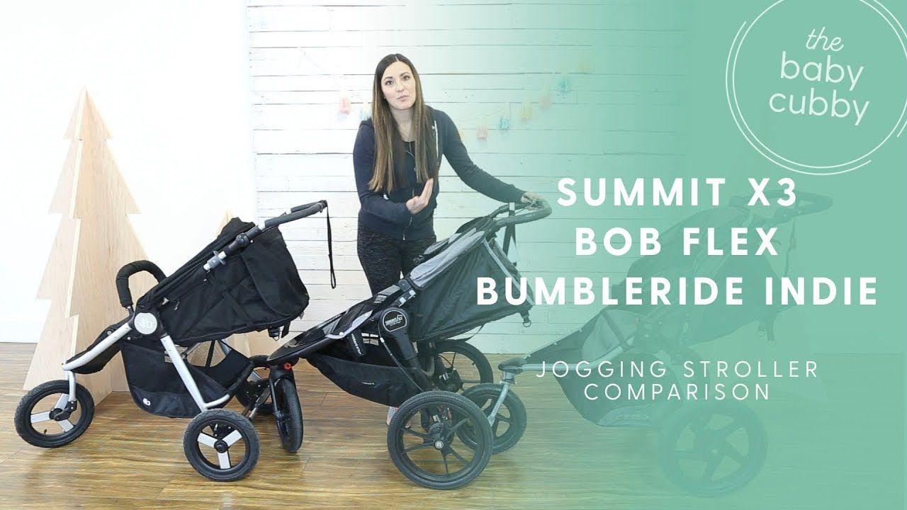 Jogging Stroller Comparison Baby Jogger Summit X3, BOB