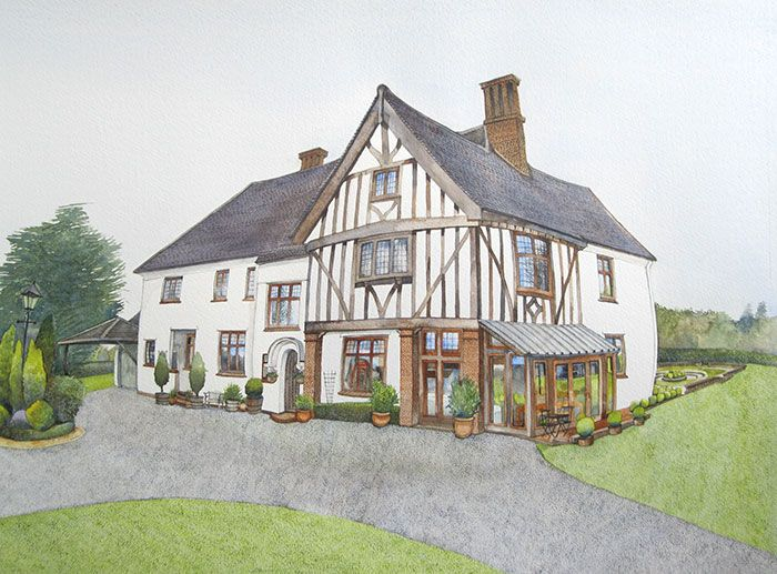 House Portrait, Bury St Edmunds