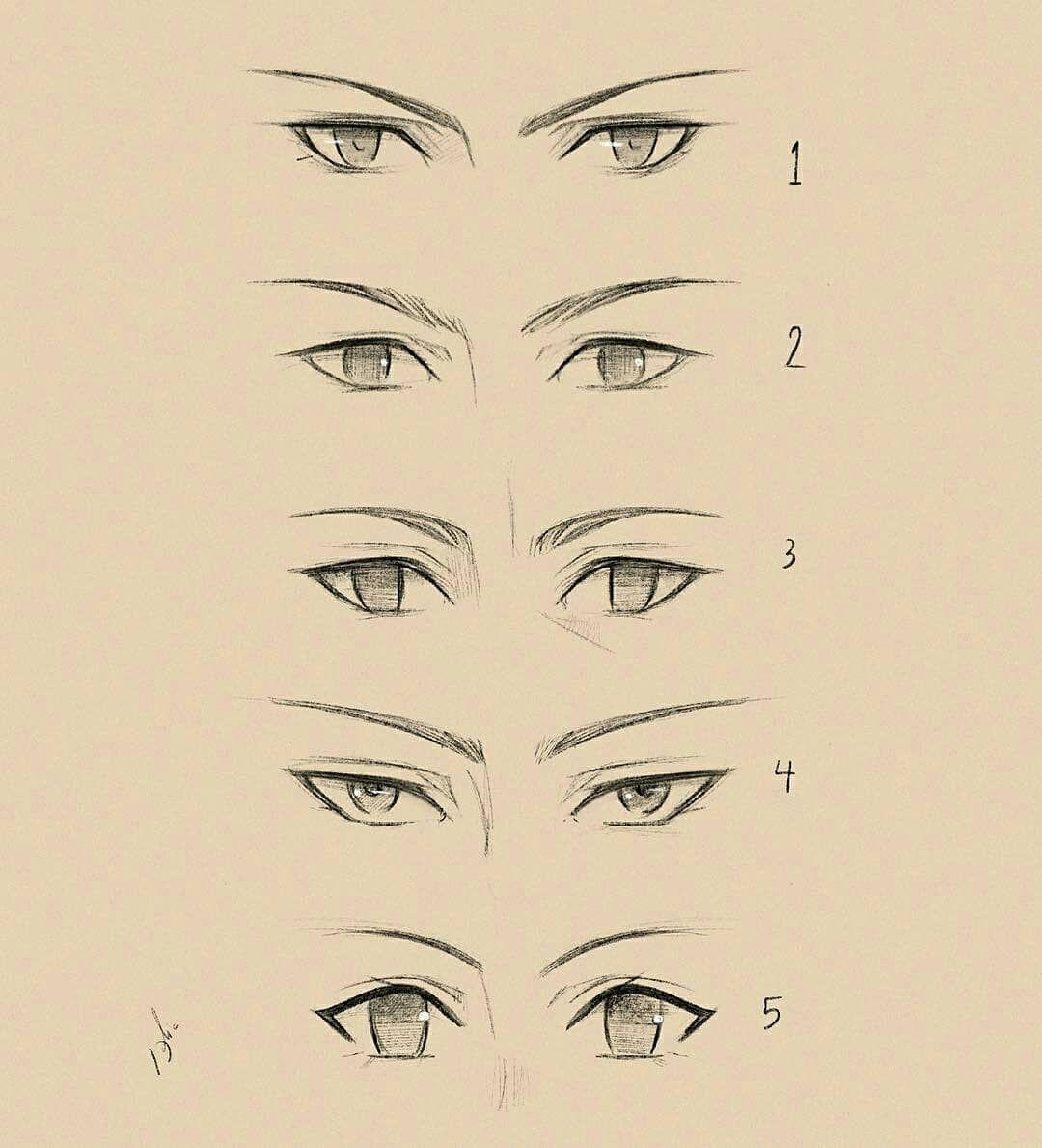 Ilustrasi Anime Eye Drawing Anime Drawings Sketches Eye Drawing