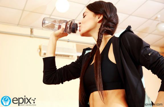 Weight Loss Tip: Burn More Belly Fat by Staying Hydrated http://bit.ly/1LTcGCA