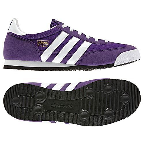 adidas dragon violet