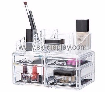 Custom Clear Makeup Storage Box Clear Makeup Organizer Drawers