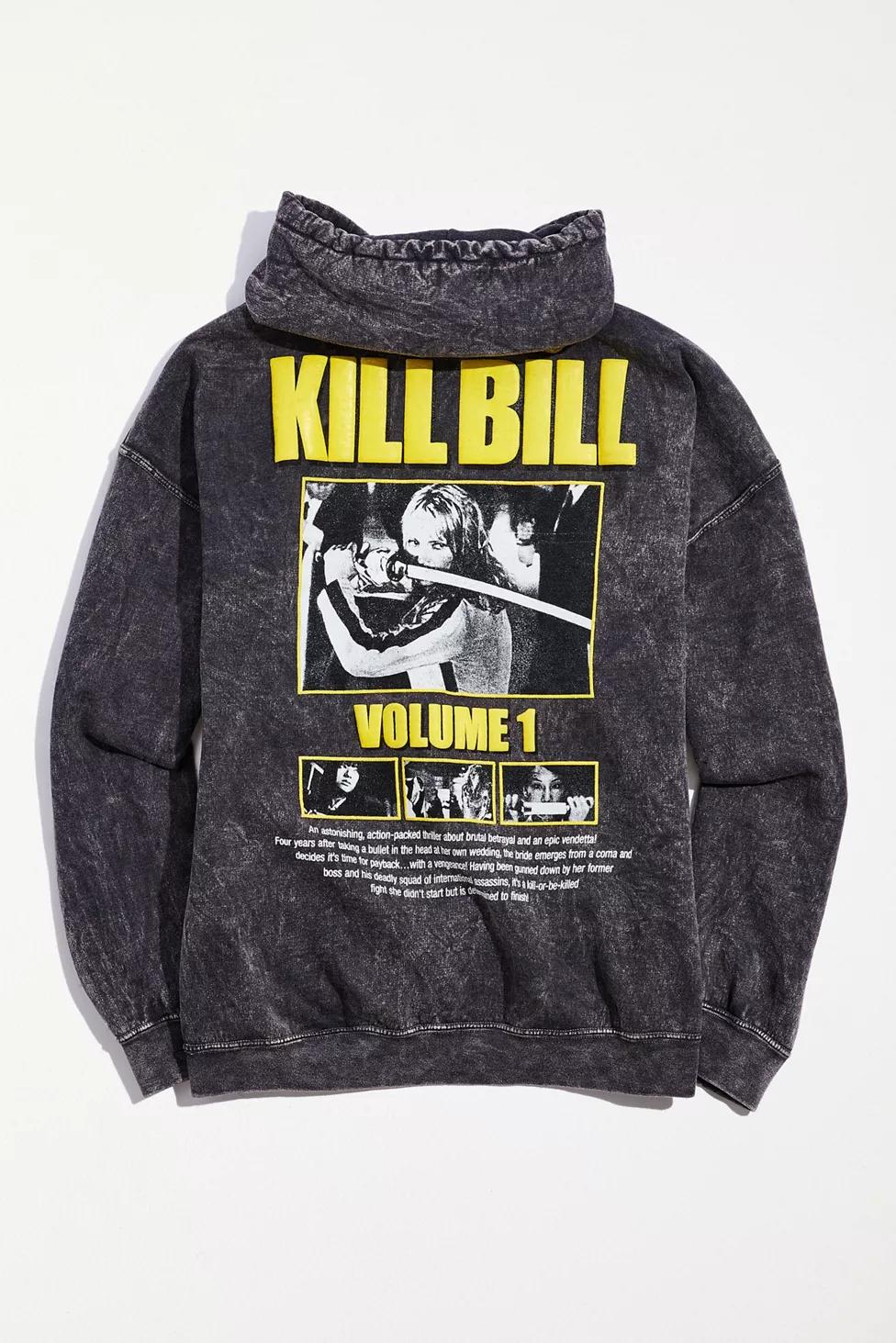Download Kill Bill Overdyed Hoodie Sweatshirt Urban Outfitters Hoodies Hoodies Men Sweatshirts