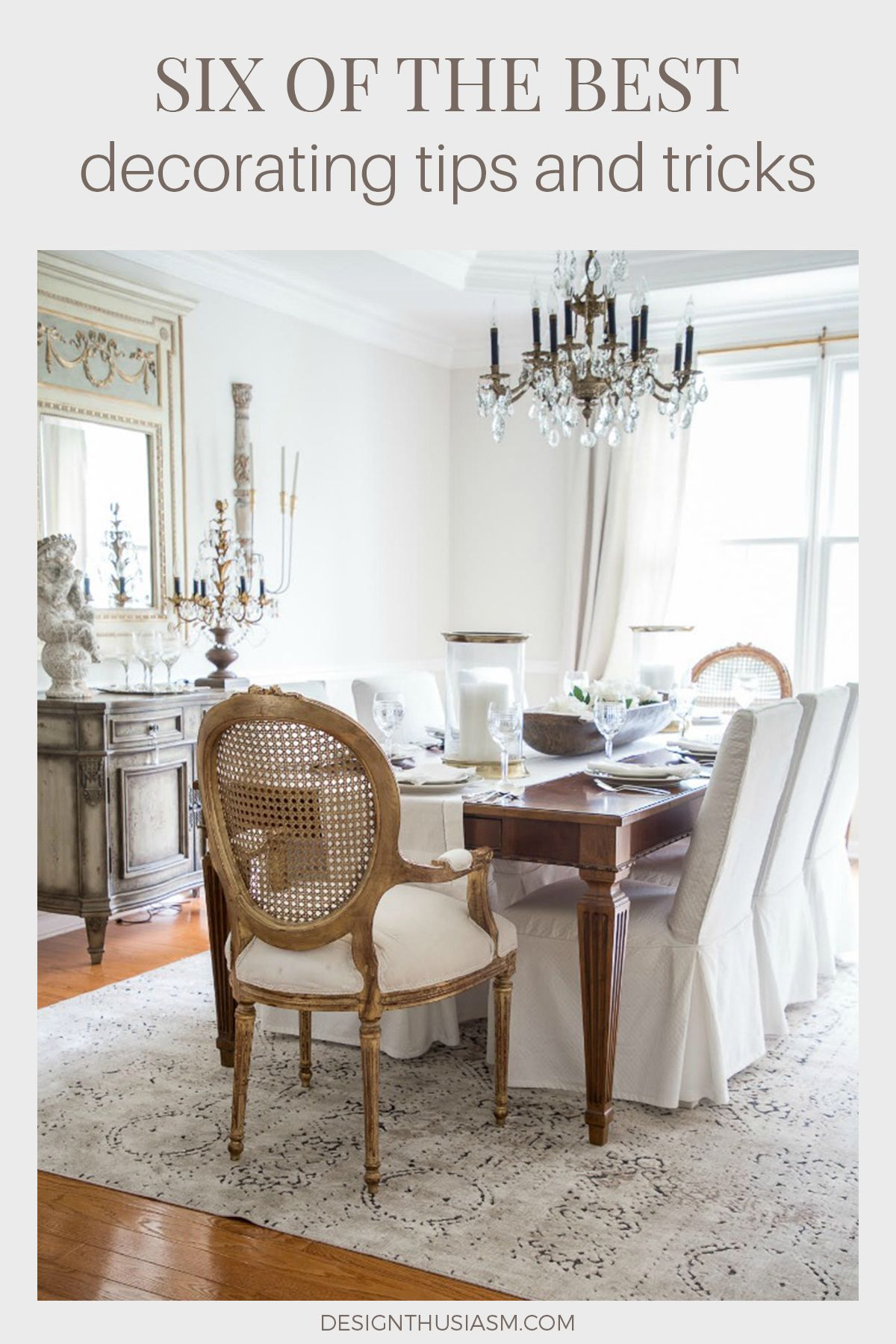 Home Design Ideas 6 Bloggers Share Their Top Home Decorating Tips French Country Dining Room French Country Living Room French Country Dining