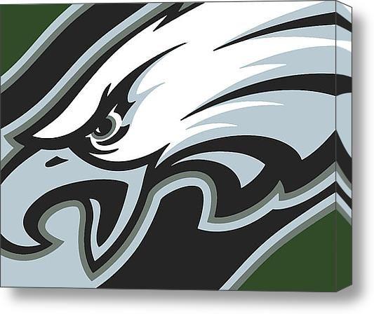Philadelphia Eagles Football Stretched Canvas Print