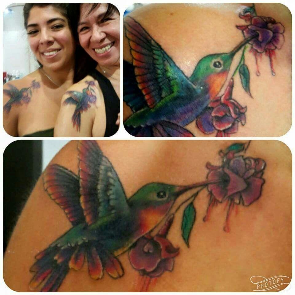 Colibri para dos de #dannyta en Palacio Art Tattoo