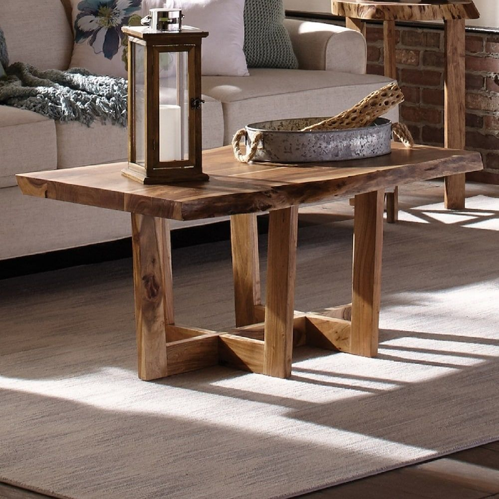 Retro Round Coffee Table With Solid Wood Tabletop Metal Legs In 2021 Round Wood Coffee Table Coffee Table Wood Coffee Table [ 1000 x 1000 Pixel ]