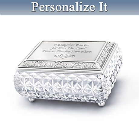 My Daughter I Love You Always Personalized Music Box Music boxes