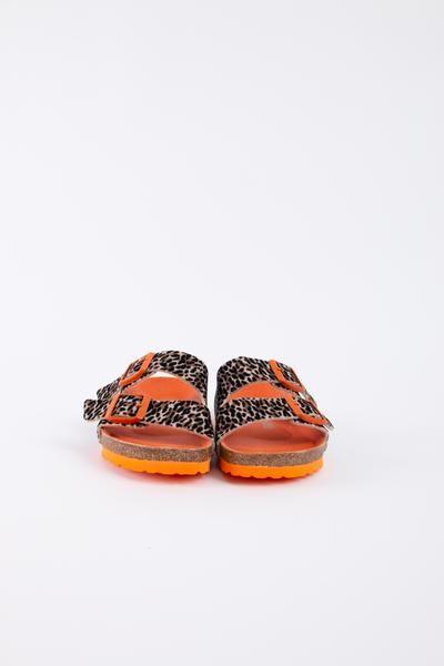 Diese super coole Sandale für Kids in Leo Optik ist ein