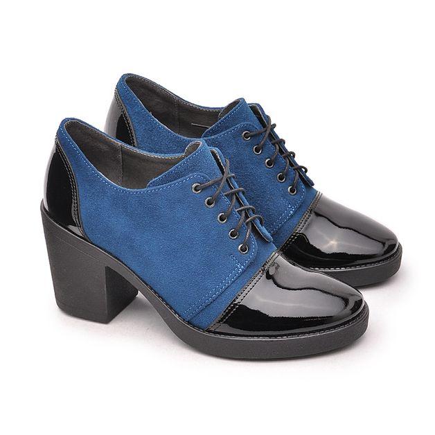 Polbuty Mediolan X 1455 337 Granat Czarny Lakier Dress Shoes Men Oxford Shoes Womens Oxfords