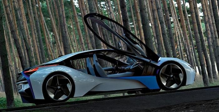 Bmw Concept Hybrid With Gullwing Doors 2017 Amazing Cars Carotorcycles